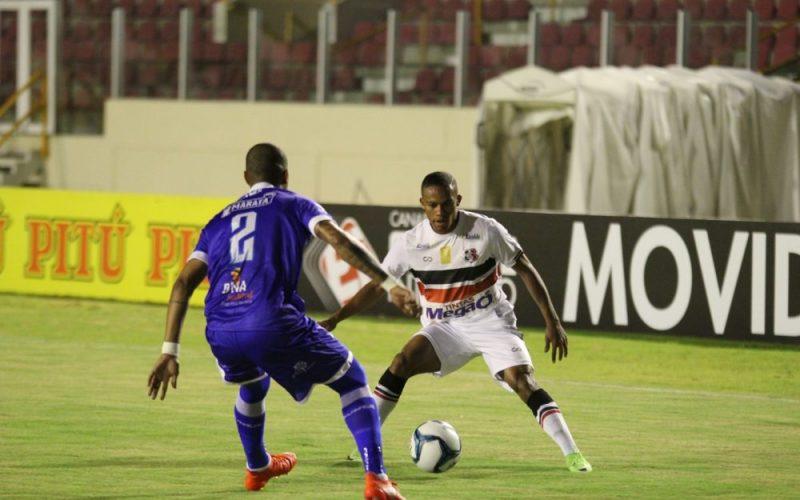 Santa Cruz estreia com empate na Copa do Nordeste
