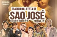 Carpina: Definida a programação da festa de São José 2018