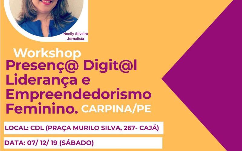 Evento exclusivo para mulheres empreendedoras será realizado em Carpina - Voz de Pernambuco