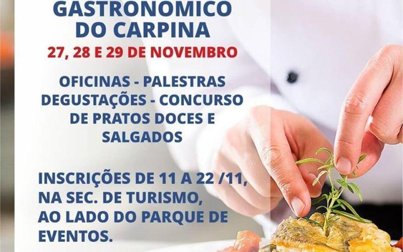 Carpina II Festival Gastronômico será realizado em Carpina - Voz de Pernambuco