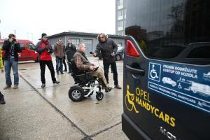 Opel handycars pre invalidný vozík