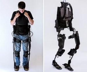Bionický oblek - ukážka