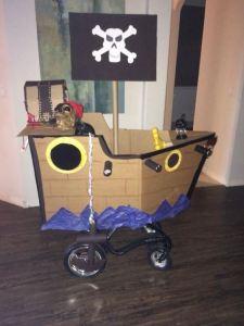 deň detí - pás 5 pirátska loď