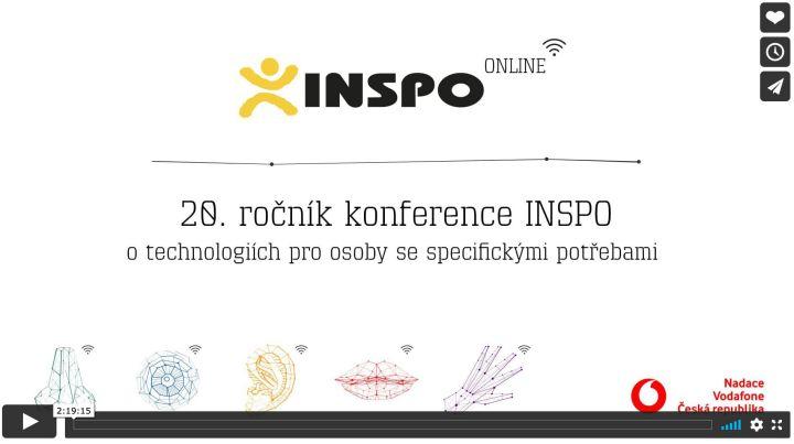 náhled obrazovky konferencie INSPO 2020