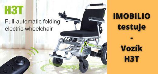 skladací elektrický vozík H3t