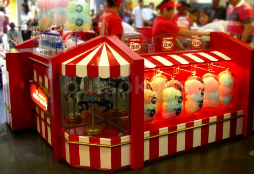 Do Eat Cotton Candy At SM Mall Of Asia Pasay City Where Food Lovers Go