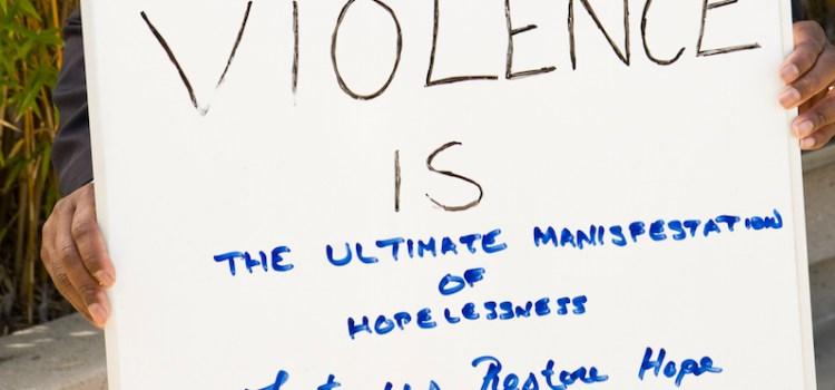 Decreasing violence, increasing hope