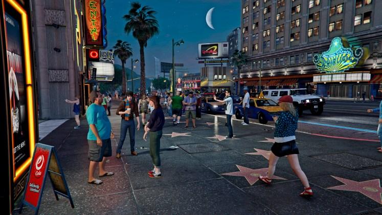GTA V PC city