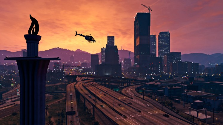 GTA V PC skyline