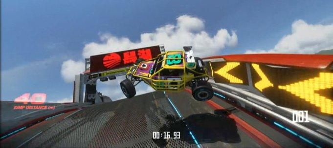 Trackmania Turbo splash