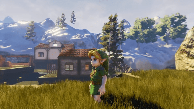 Ocarina of Time Unreal Engine 4