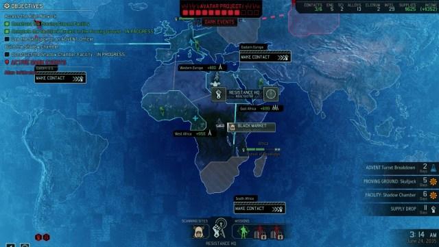Xcom 2 strategic map