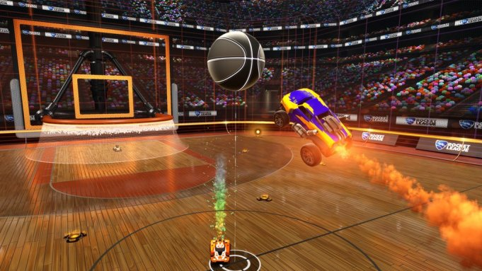 Rocket League - Basketball