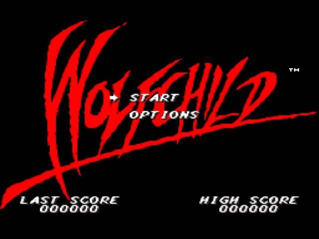 Wolfchild Start Page