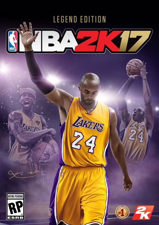 NBA 2K17 Kobe Cover