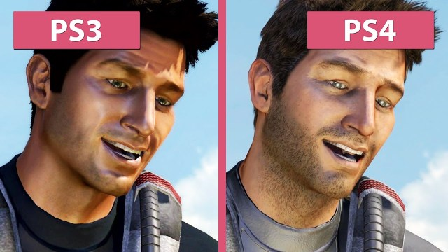 Uncharted Comparison