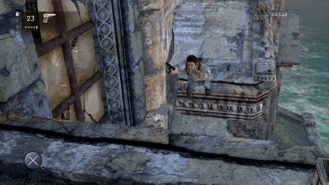Uncharted Jumping