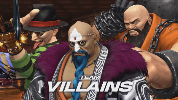 Team Villains Trailer