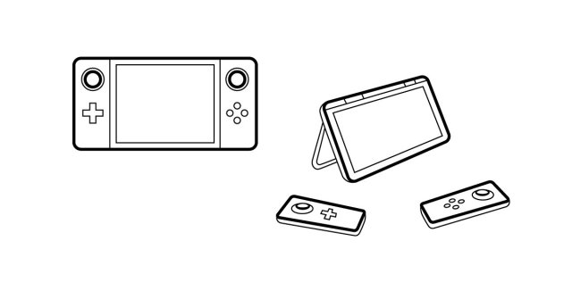 Concept Art on the proposed handheld design (not official)