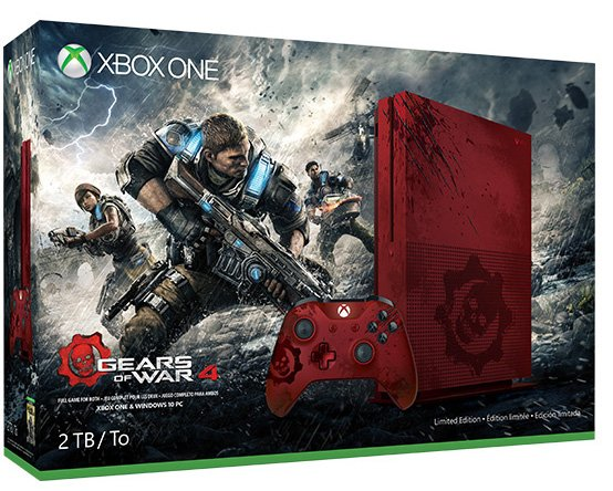 Gears of War 4 Xbox One S Bundle