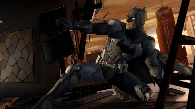Batman slidin' into crime alley like