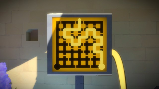 The Witness - Maze Puzzle