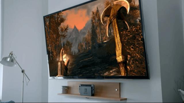 Nintendo Switch - Skyrim at Home