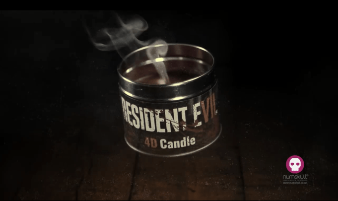 Resident Evil VII 4D Candle