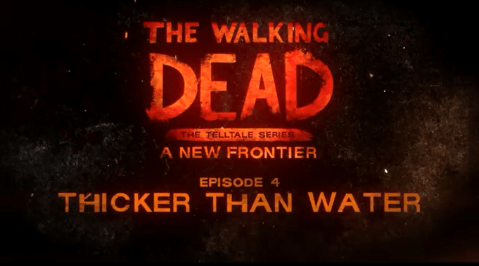 The Walking Dead - A New Frontier - Season 3 -Episode 3 - Thicker Than Water