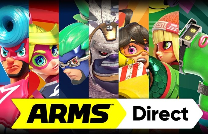 Arms - Nintendo Direct