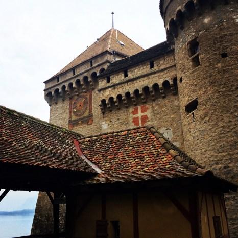 L'ingresso principale del castello