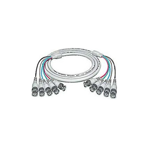 BNC Monitor Cables high resolution color coded RGBHV 5