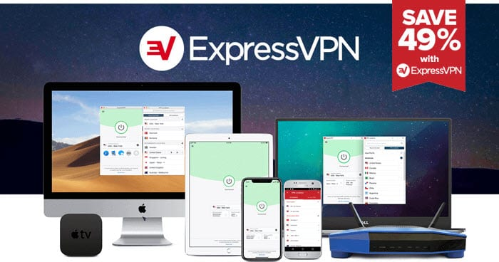Best VPN for TikTok : ExpressVPN