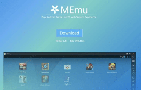 Memu Emulator on PC