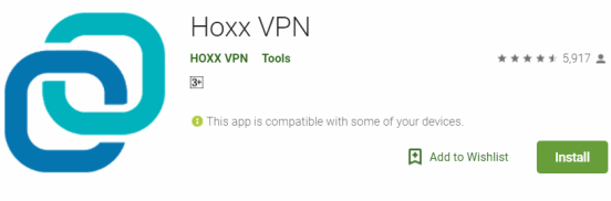 Hoxx VPN For Windows