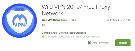 Wild VPN 2019 For Windows