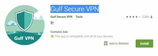 Gulf Secure VPN For Windows