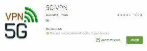 5G VPN For Windows