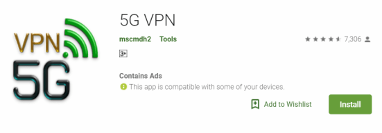 5G VPN For Windows