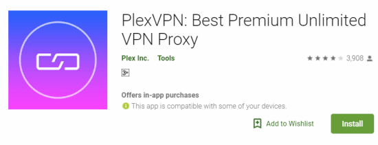 PlexVPN For Windows
