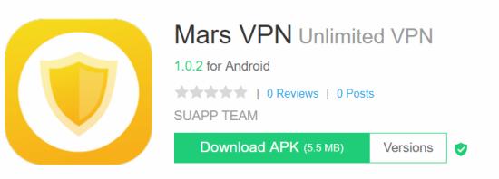 Mars VPN For Windows