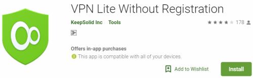 VPN Lite For Windows