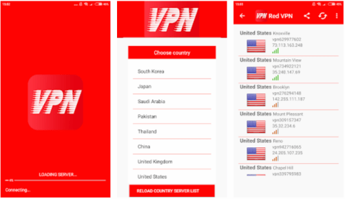 Red VPN Unlimited For PC