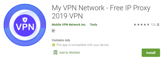 My VPN Network for PC