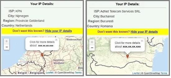 Verbinden vanuit Nederland en Roemenië