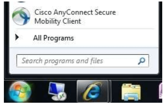 Access Cisco AnyConnect Secure Mobility Client for URMC VPN