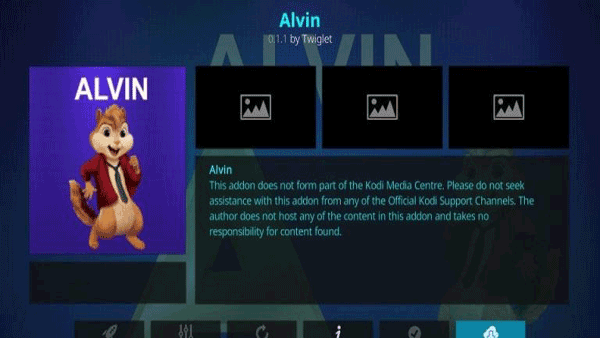 Alvin - Kodi addon for High Quality Videos