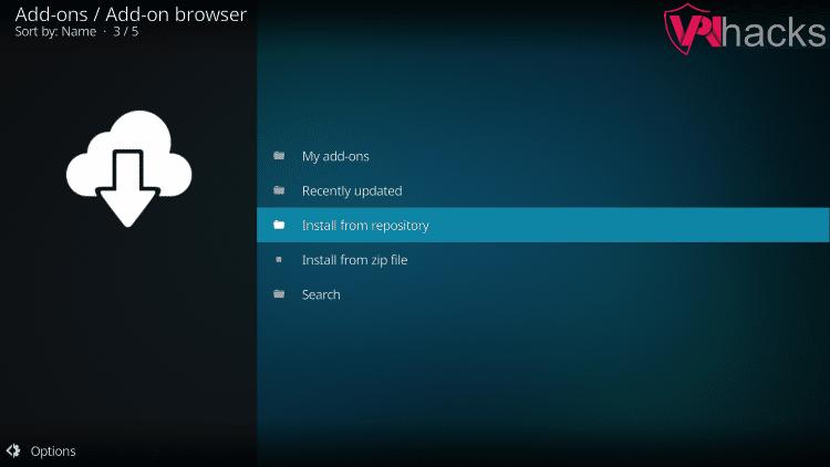 install venom kodi addon from repository