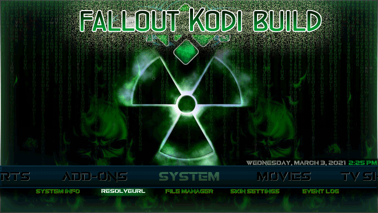 Fallout Kodi Build