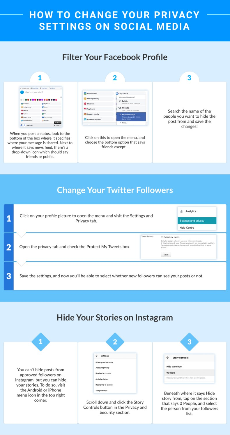 How to Change Your Privacy Settings on Social Media